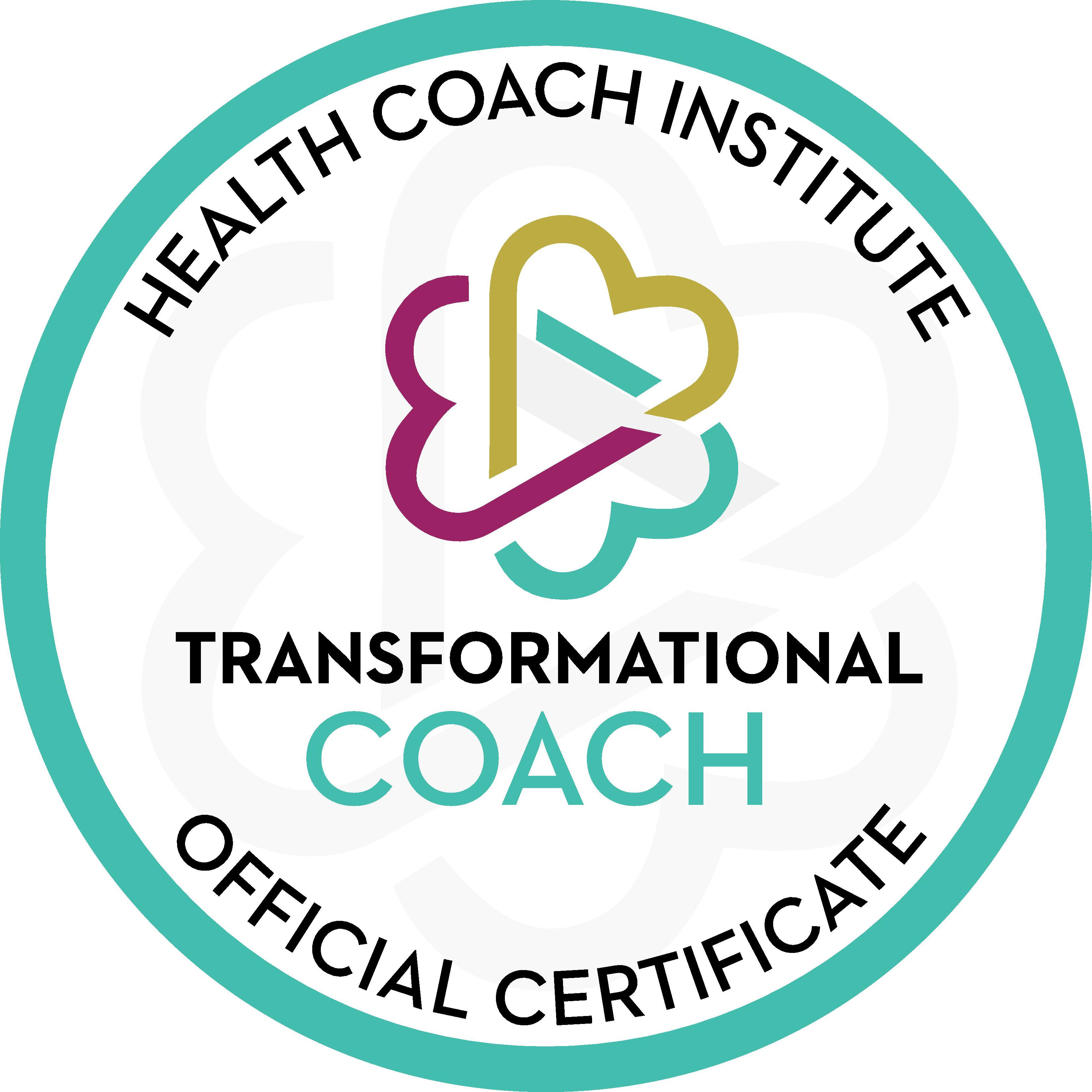 Transformational Coaching Certification Seal